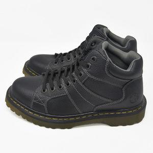 Doc Martens Sz 8M Black Leather Hiking Boots